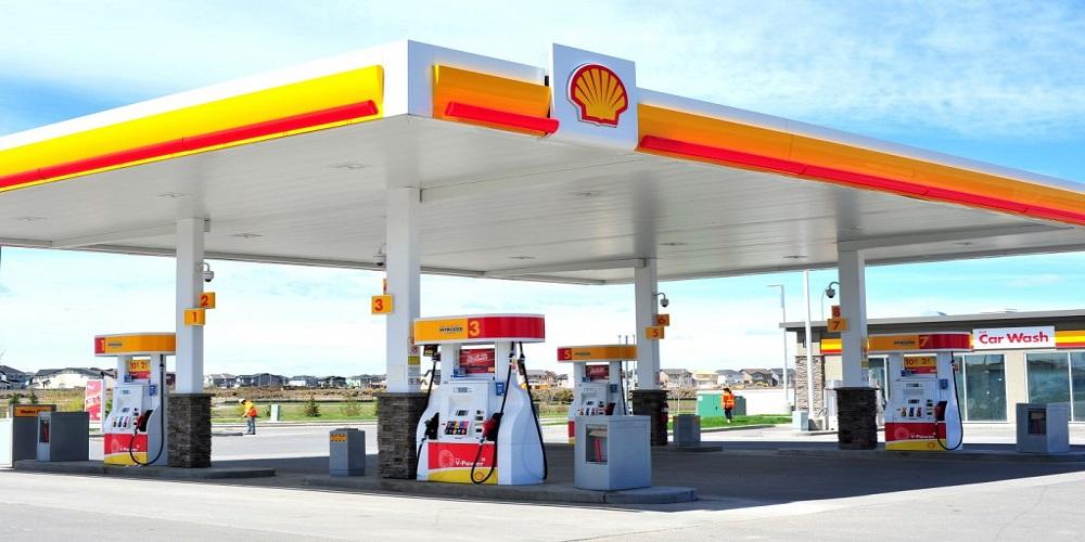 سایبان پمپ بنزین لاکچری